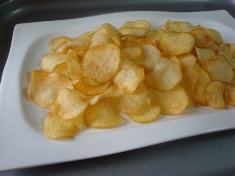 Handmade Crisps - potato crisps my home tastes