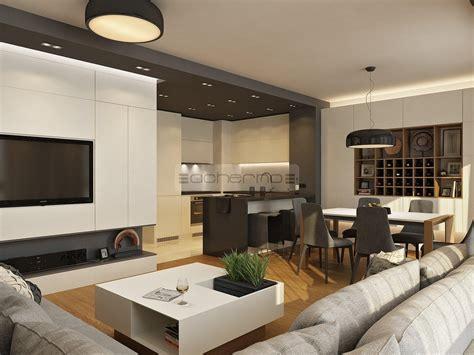 wohn schlafzimmer einrichtungsideen passende wandfarbe fur wohn und schlafbereich