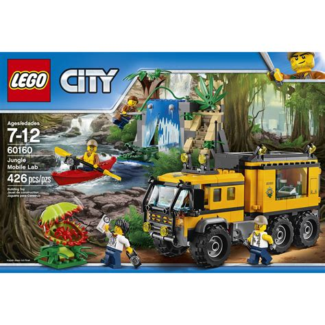 lego city jungle boat lego 6174638 city jungle explorers jungle mobile lab