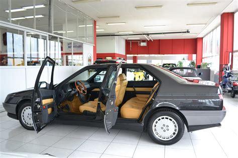 alfa romeo garage alfa romeo 164 2 0 v6 turbo nero mettalizzato garage vecchio