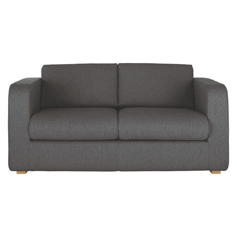 sofa beds 2 seater porto charcoal fabric 2 seater sofa bed buy now at