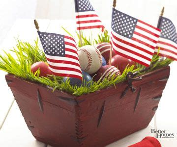 bh july memorial day decorating ideas center pieces for