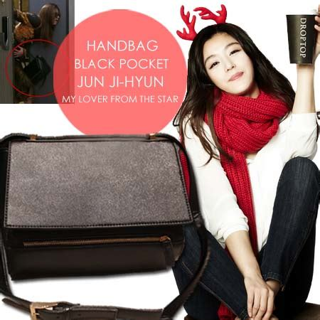 Tas Wanita Sling Bag By Jun Store by Po Handbag Black Pocket Jun Ji Hyun My Lover From The