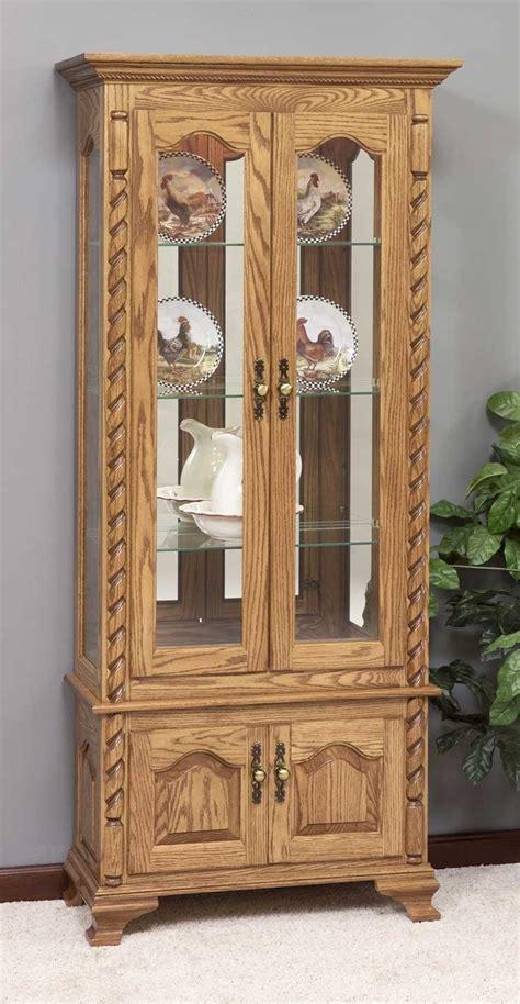 furniture gt curio cabinets gt rustic curio cabinets gt curio cabinet amish woodworking projects plans