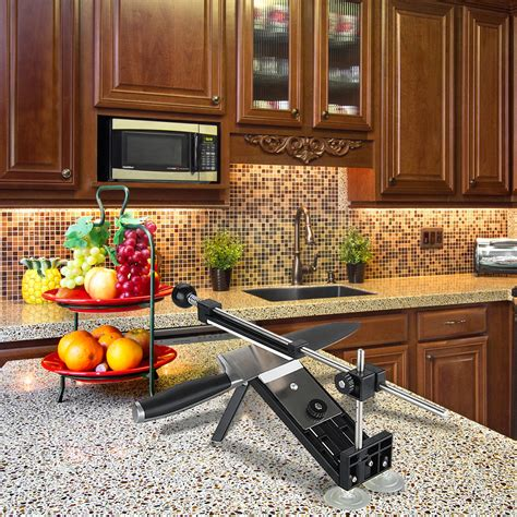 Pisau Dapur Lazada ruixin pro dapur memperbaiki sudut pisau pengasah pisau