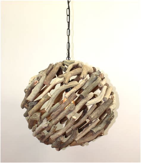 driftwood ls coastal lighting big driftwood ball pendant chandelier ceiling mounted