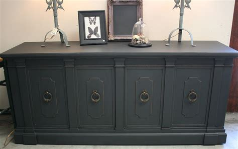 Thomasville Dining Room Table reloved rubbish vintage sideboard in graphite