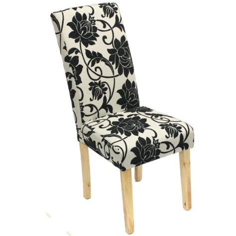 floral dining room chairs single floral flowery fabric material dining table room