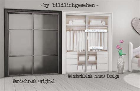 sims  blog closet  wooden bed recolors