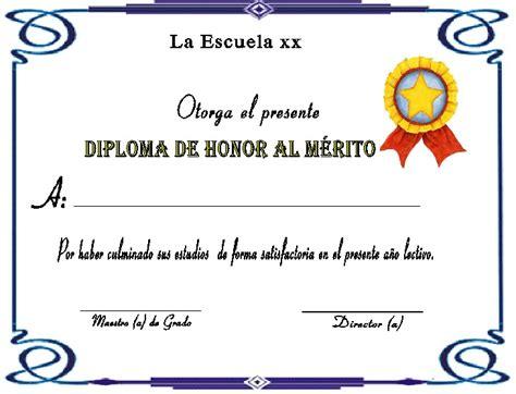certificados de reconocimiento en blanco newhairstylesformen2014com diplomas de honor al m 233 rito a mi manera satın alınacak