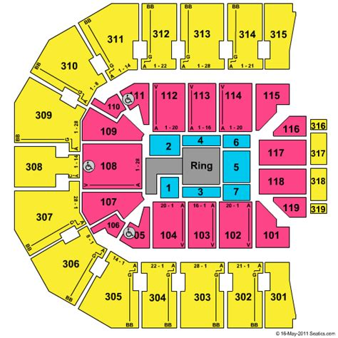 john paul jones arena seating chart
