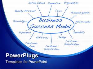 hand written business success model vector file available