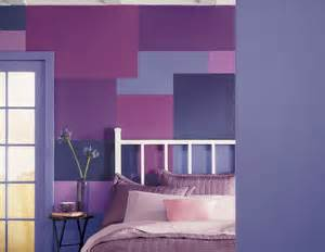 Two Different Colored Walls Bedroom - decorating ideas with paint for walls home delightful