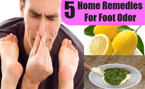 5 home remedies for foot odor health care a to z