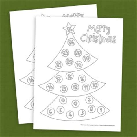 printable christmas tree countdown 5 super simple countdown to christmas daily activity ideas