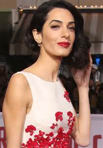 Amal Clooney Debuts Short Hair Clad In Christian Dior