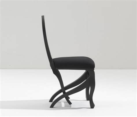 Click Clack Chair by Click Clack Chair Charcoal Chairs From Nigel Coates