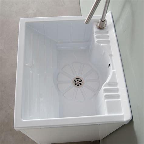pilozzo ceramica con mobile lavanderia e lavatoi lavatoio con mobile 60x60 lemon