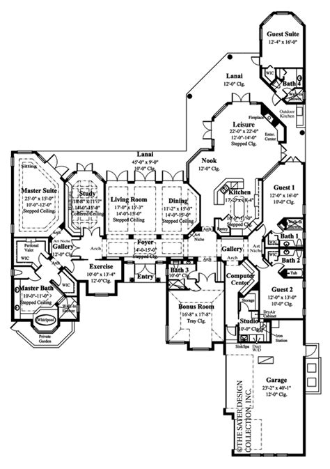 sater design collection s quot cordillera quot custom home plan sater house plans 6780 m sater house plan design home
