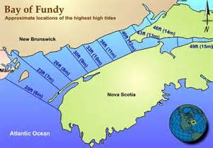 bay of fundy tidal map canada east coast