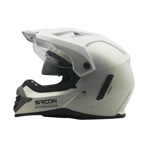 Helm Cargloss Sircon Supermoto Jual Cargloss Sircon Supermoto Helm White Gold