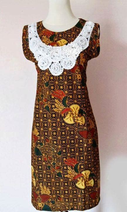 Kemeja Katun Sogan By Barosa Batik batik sogan lace baju kerja batik