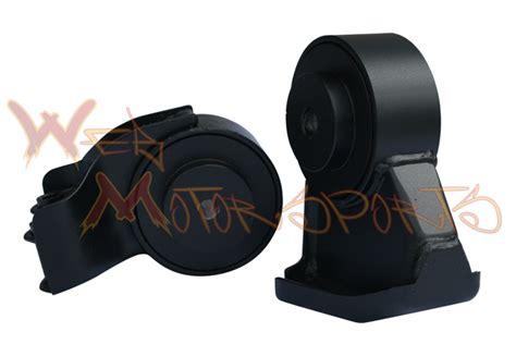 Brackett Solid For Motor Side Back Set scca front rear solid motor mounts web motorsports
