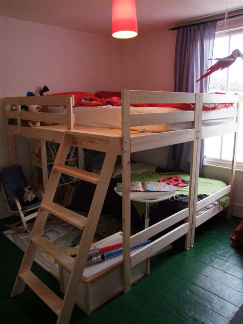 double loft beds double bunk