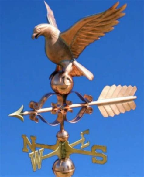 Weathervanes And Cupolas Usa by Amazing Copper Quot Eagle Quot Weathervane Made In Usa 419f Ebay