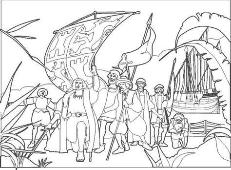 imagenes 12 octubre para colorear llegada col 243 n a am 233 rica dibujalia dibujos para