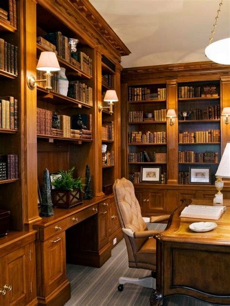 traditional home office library design pictures remodel