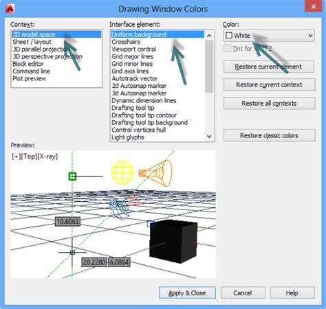 autocad layout view colors autocad blog mastering autocad 2017