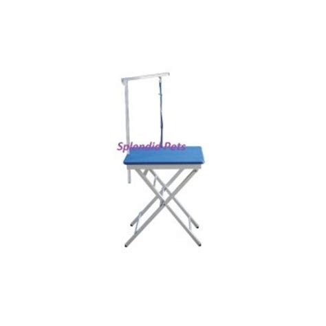 lightweight ringside grooming tables emperor grooming tables 24 quot foldable lightweight blue