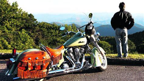 Motorradtour Um Die Welt by Blue Ridge Parkway Motorradtour Durch Die Blauen Berge