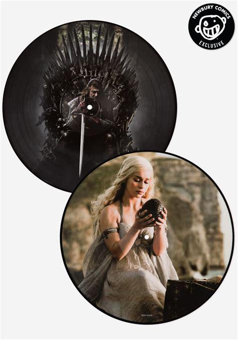 ramin djawadi soundtrack of thrones exclusive 2 lp