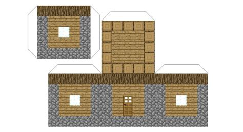 Paper Crafts House - minecraft paper house www pixshark images