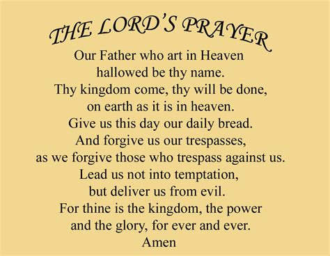 the lord s prayer bible study page 1 of 1