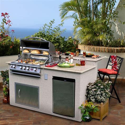 cheap outdoor kitchen ideas hgtv design small home and decorating fascinating portable grill