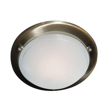 Brass Flush Ceiling Light Deckenle Searchlight 702ab Jupiter 1 Light Antique Brass Flush Ceiling Light