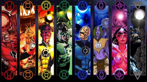lantern corps colors visual biology vs the dc lanterns dope