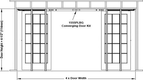 rough opening for garage door