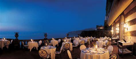 terrazza bosquet grand hotel excelsior vittoria sorrento italy