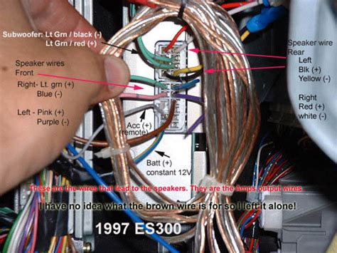 where to buy ls in nyc 97 99 factory amp location wiring codes clublexus