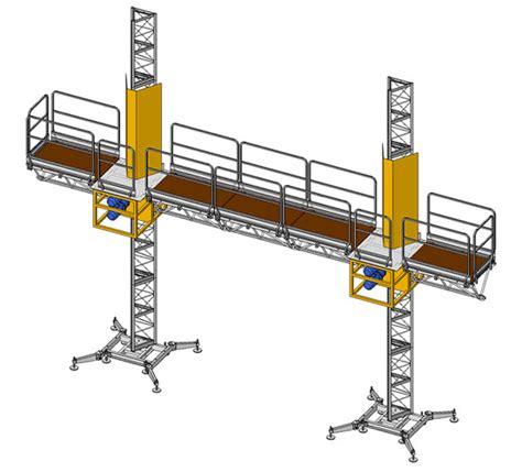 ponteggi mobili per edilizia noleggio e montaggio ponteggi elettrici autosollevanti