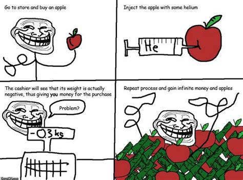 Best Troll Meme - troll science problem