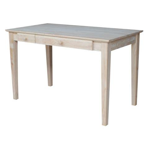 International Concepts Unfinished Desk Of 50 The Home Depot Unfinished Desk