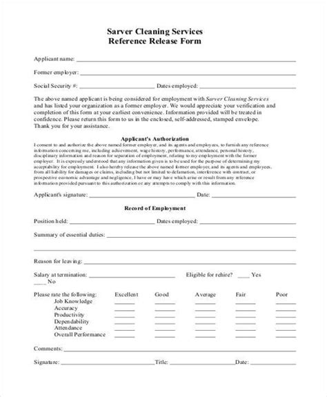 Release Letter Cite Hr reference release form work permit exle procedural