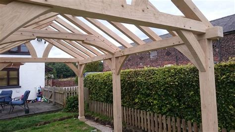 Oak Car Port by Oak Gazebo Oak Framed Car Ports Wooden Gazebos Oak