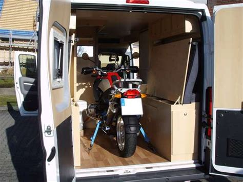 Motorrad Mit Wohnwagen Transportieren by Transport Motorrad Auffahrschiene Standschiene