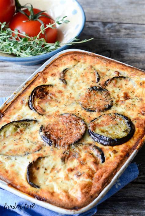 vegetarian moussaka recipe dishmaps